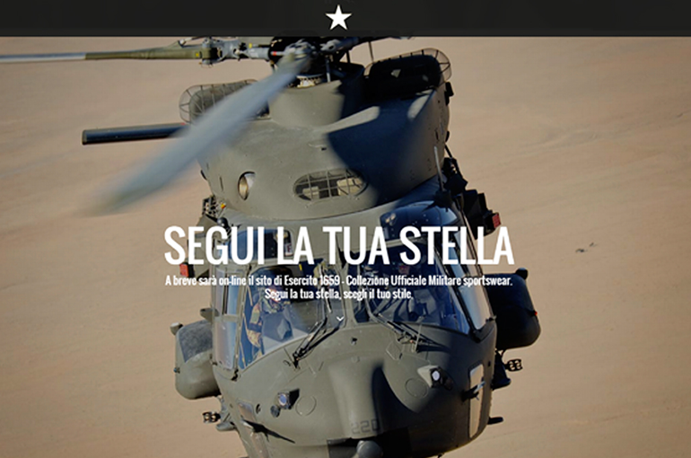 Website Esercito italiano