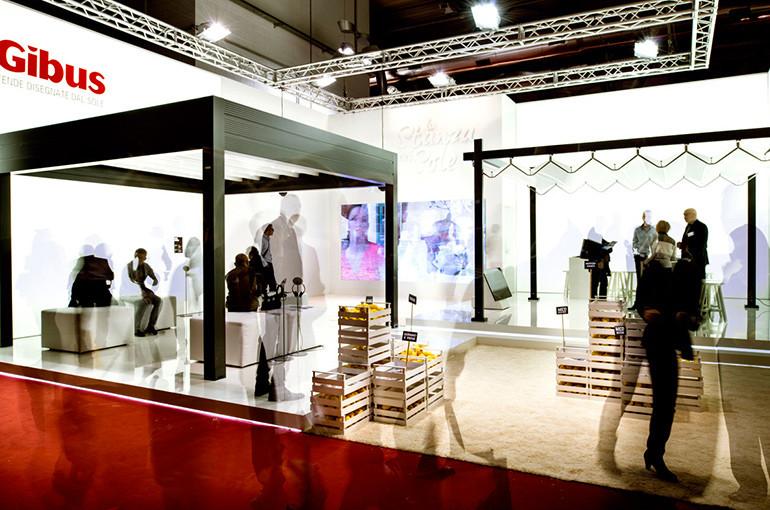 Stand Gibus Salone del mobile 2013