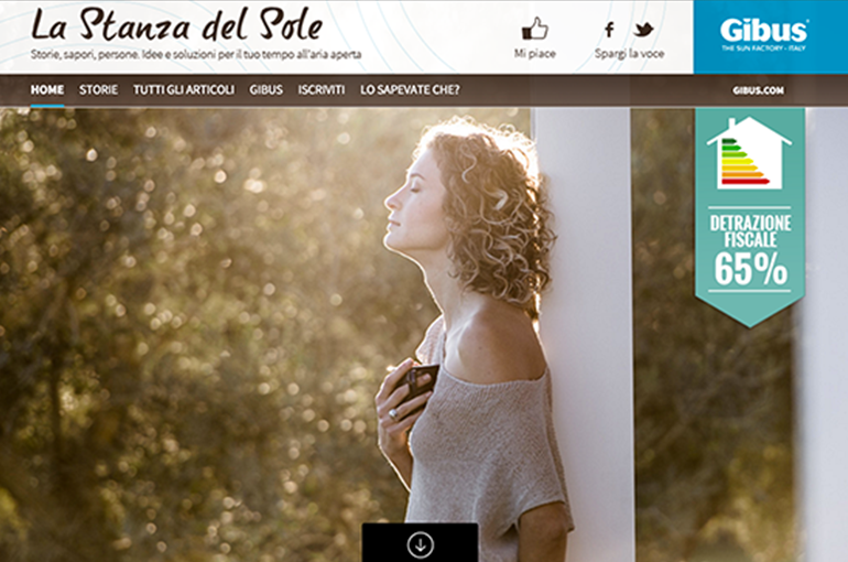 Website La stanza del sole