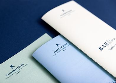 Hotel Falkensteiner Calabria menu design
